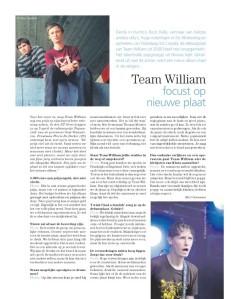 Team William Pas Uit Magazine maart 2011